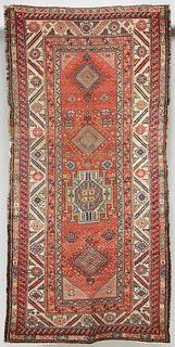 AN ANTIQUE PERSIAN HAMADAN LONG RUN CIRCA 1900