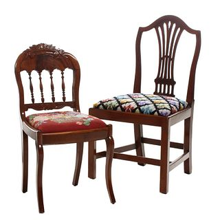 18TH AND 19TH CENTURY SIDE CHAIRS