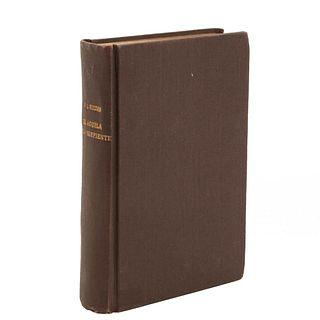 Guzmán, Martín Luis. El Águila y la Serpiente. Madrid: M. Aguilar, 1928. Primera edición.