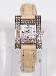 Chopard Ladies Diamond Quartz Wristwatch
