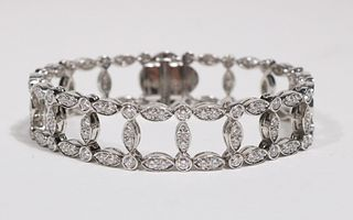 Suna Brothers Diamond Railroad Bracelet