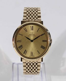 Vintage Omega Gold Filled Automatic Dress Watch