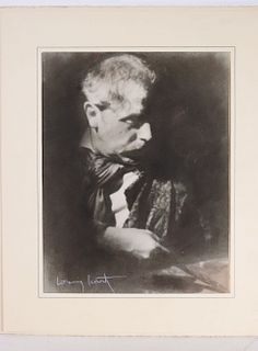 Photograph, Louis Icart of Auguste Rodin