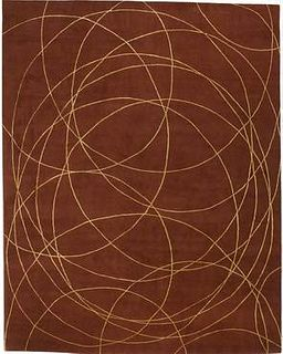 Coil 9'X12' Wool Rug