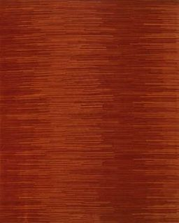 Fusion Red Wool 8'X10' Rug