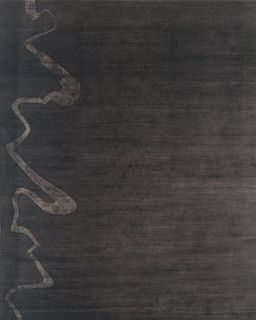 Smoke Brown 6'X9' Rug