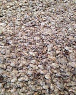 Popcorn Un-Dyed 8'X10' Wool Rug