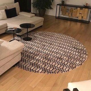 Extend Round Area Rug