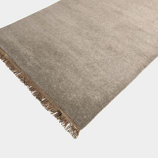 Low Shag Tasseled Rug