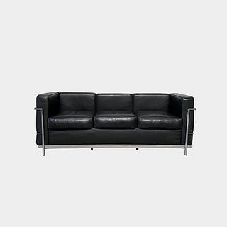 LC2 Petit Modele Three-Seat Sofa