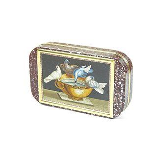 A Pulfrey Gold Mounted Micro mosaic snuff box