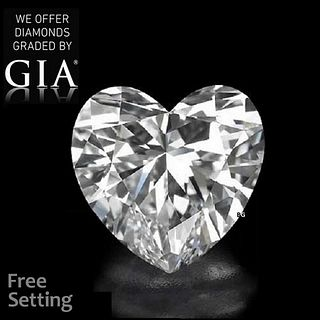 3.41 ct, D/IF, Heart cut Diamond. Unmounted. Appraised Value: $333,700