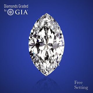 3.03 ct, D/FL, Marquise cut Diamond. Unmounted. Appraised Value: $296,500