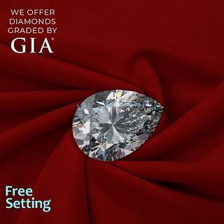 2.07 ct, E/IF, Pear cut Diamond. Unmounted. Appraised Value: $60,500