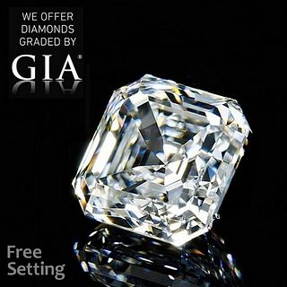 5.06 ct, G/IF, Square Emerald cut Diamond. Unmounted. Appraised Value: $500,900