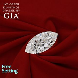 2.02 ct, E/VVS1, Marquise cut Diamond. Unmounted. Appraised Value: $53,000