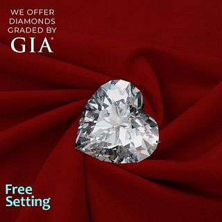 2.05 ct, D/IF, Heart cut Diamond. Unmounted. Appraised Value: $82,500