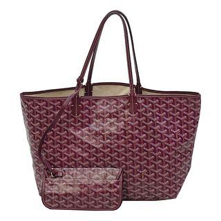 Goyard Saint Louis PM Shoulder Bag w/ Pouch