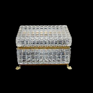 Antique Baccarat Box