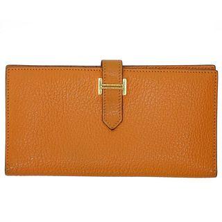 Hermes Courchevel Bearn Gusset Wallet