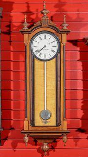 AN E HOWARD AND CO REPRODUCTION WALL CLOCK
