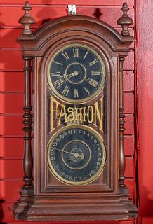 A NEW HAVEN 'FASHION' CALENDAR CLOCK FOR NATIONAL CLOCK
