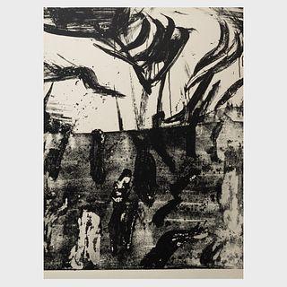 Willem de Kooning (1904-1997): Untitled (1/2) Litho #7