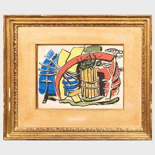 After Fernand Léger (1881-1955): Landscape Composition