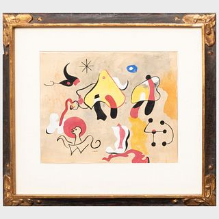 After Joan Miró (1893-1983): Composition