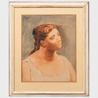After Pablo Picasso (1881-1973): Femme en Buste