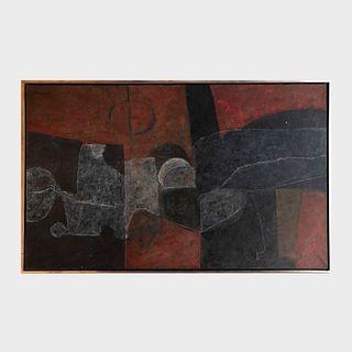 Armando Morales (1927-2011): Reclining Figure
