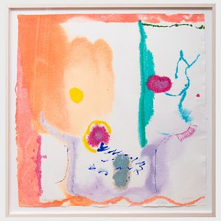 Helen Frankenthaler (1928-2011): Beginnings