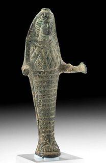 Graeco-Romano Bronze Standing Ephesian Artemis