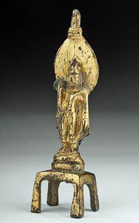Chinese Tang Gilt Bronze Avalokitesvara, ex-Christie's