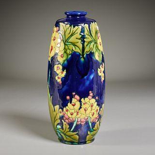 Minton, Art Nouveau majolica vase