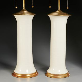 "Christopher Spitzmiller, pair ""Patricia"" lamps"