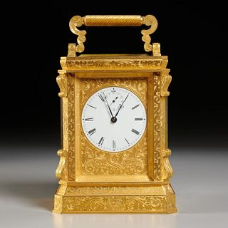 Charles Frodsham, rare Victorian carriage clock