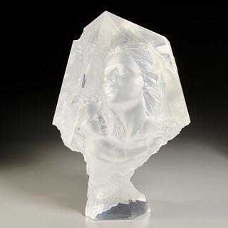 Michael Wilkinson, acrylic sculpture, 1996