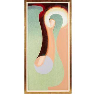 Gary Stephan, acyrilic on canvas, 1985