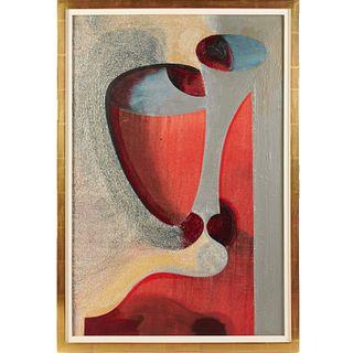 Gary Stephan, acrylic on canvas, 1985