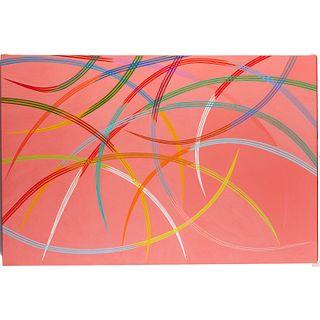 Piero Dorazio, oil on canvas, 1997