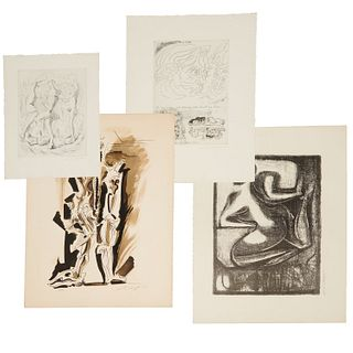 Andre Masson, group of etchings & lithographs