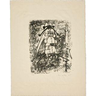 Roberto Matta, signed lithograph