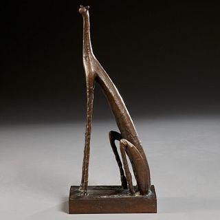 Reg Butler (manner), bronze sculpture, 1953