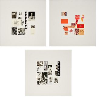 Richard Meier, (3) collages