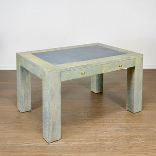 Juan Pablo Molyneux, faux shagreen desk or vanity