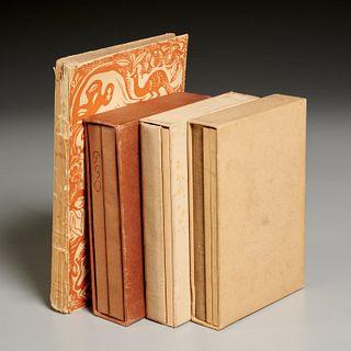 Gauguin, (4) vols, Sketchbooks and Avant et Apres