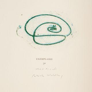 [Max Ernst] Au Petits Agneaux, signed ltd. ed.