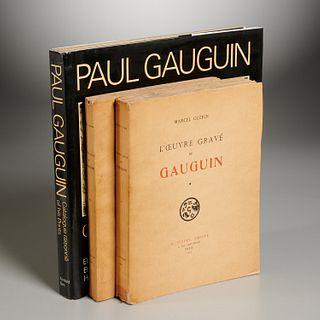 Paul Gauguin: (3) Vols, Catalogues Raisonne
