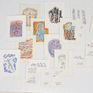 Andre Masson, group of original illustrations